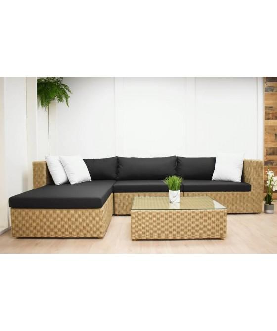L shaped patio furniture